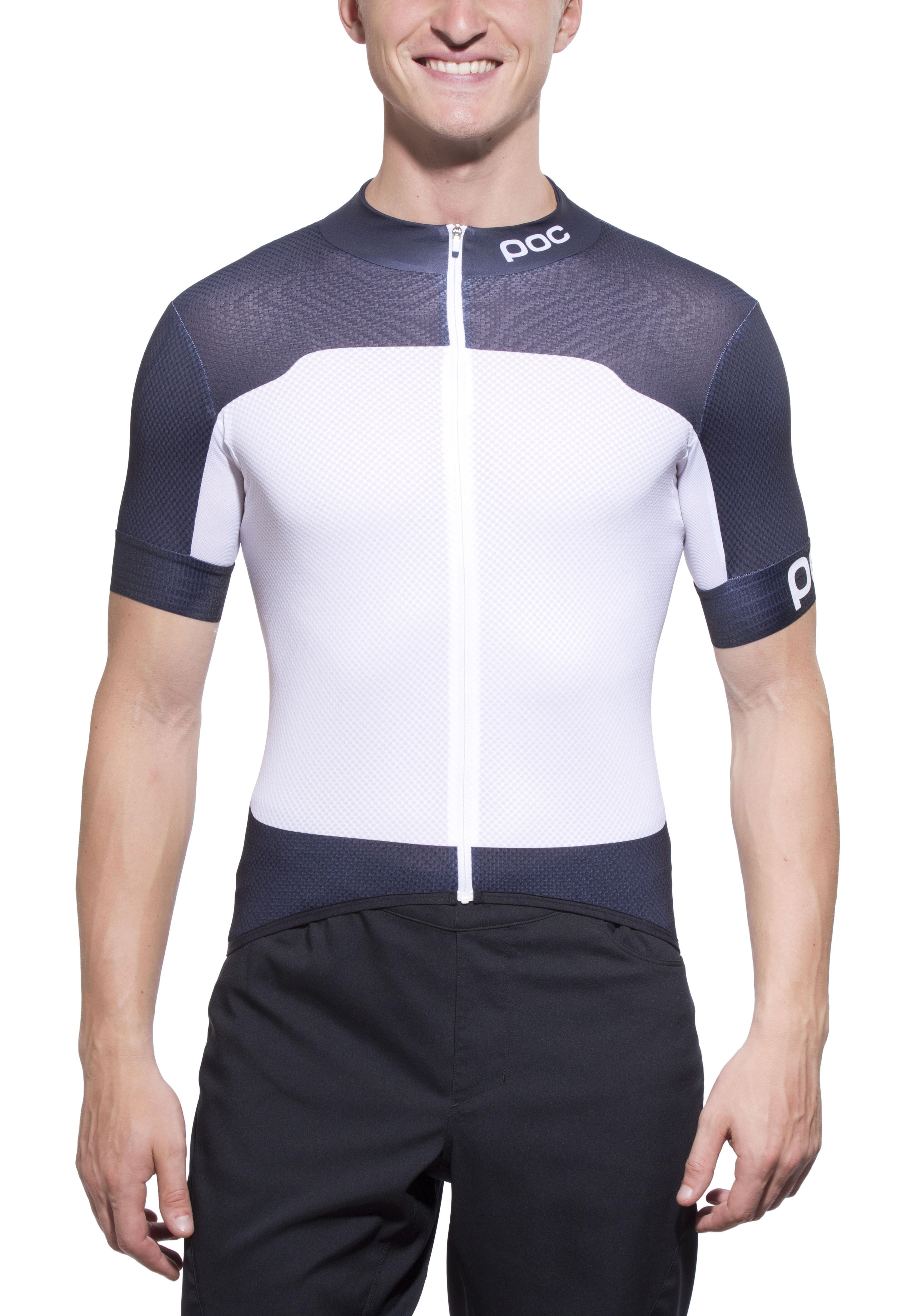 ▷ POC Raceday Climber Jersey Men nickel blue hydrogen white online ... eeb5f7bf9